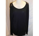 Wallis Fine Jumper Black Size: 14
