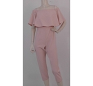 Fluxe BNWT Bardot Style Jumpsuit Powder Pink Size: S