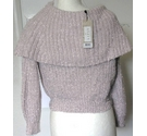 Lipsy Sweater Pale Pink Size: S
