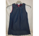 Ted Baker Dress with scolloped hem Blue Size: 5-6yrs