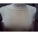 M&S Marks & Spencer Jumper Cream Size: 14