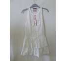 BNWT Superdry lace tiered short sleeveless sun summer White cotton Size: XS