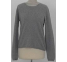 Deane & White Cashmere Crew-neck Jumper Grey Size: 14