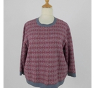 Cotswold Collections Vintage Style Jumjper Red & Grey Size: XXL