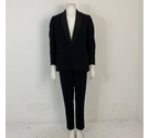 "Unbranded Vintage Suit Chest 40"" W32"" Black Size: M"
