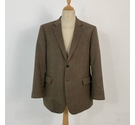 Jaeger Wool Suit Jacket Brown Size: XL