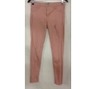 Denim & Co Skinny Jeans Pink Size: 12 - 13 Years