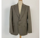 Burton Suit Jacket Grey Brown Size: L