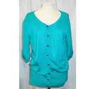 Dorothy Perkins Cardigan Teal Size: 16