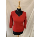 Debbie Morgan Jumper Red Size: M