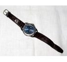 Next 'Sport' date watch in blue. Size: L,leather strap