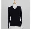 Dorothy Perkins Cut-Out Jumper Black Size: 8
