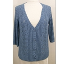 Marks and Spencer Cardigan Cornflower Blue Size: 14