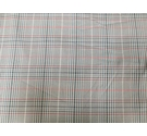 Beige, Green & Red Mini Checked Fabric 140 x 230 cm