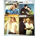 Vintage Patons Couples Sewing Patterns