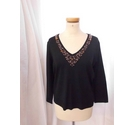 CC Long Sleeved Knitwear Black Size: L