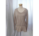 All Saints Funky Knit Dress/Top Gold Size: M