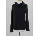 M&S Collection Roll Neck Jumper Black Size: 12