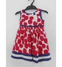 Monsoon Sleeveless Dress Red Size: 9-12 months
