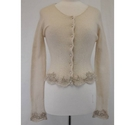 Armand Ventilo wool mix cardigan cream Size: M