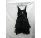 River Island Sleeveless dress with frills Black Size: 5 - 6 Years