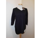 Paramour V-neck jumper Black Size: M