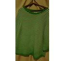 COS Jumper Green & White Size: 16