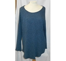 Myhoilys ribbed tunic Blue Size: XL