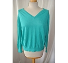 Hush Uk Linen/ Cotton, Jumper Jade Green Size: M