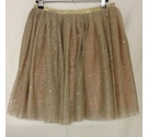 BNWT NEXT Party Skirt Brown & Gold Size: 14 - 15 Years
