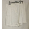M&S Marks & Spencer Linen Shorts Soft White Size: 34""