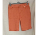 Per Una Denim Shorts Peach Size: 34""