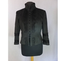 Karen Millen satin and lace bodice jacket black Size: 16