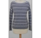 Banana Republic Jumper Grey/white Size: XS