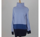 M&S Collection Roll Neck Jumper Blue Size: 12