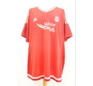 Adidas Aberdeen Football Top Red Size: XL