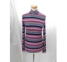United Colors Of Benetton Long Sleeved Top Multi-Coloured Size: M