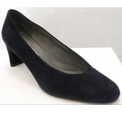 Stuart Weitzman Court Shoes Navy Blue Size: 7.5