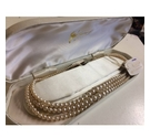 """Gloria"" simulated pearl necklace"