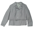 stadick vintage smart jacket with belt grey Size: 44