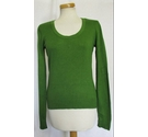 Laura Ashley Scoop Neck Jumper Green Size: 12
