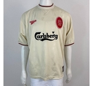 Reebok Liverpool 96-97 Away Shirt Cream Size: XXXL