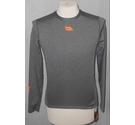 Casablanca polo long sleeved crew neck tshirt grey Size: S