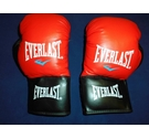 EVERLAST Boxing Gloves Red & Black Size: Junior / Small