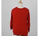 Jigsaw Lambswool Blend Jumper Burnt Orange Size: S