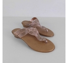 M&S Embellished Sandals Gold Size: 8