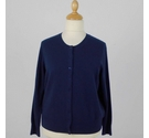 M&S Marks & Spencer Cashmere Cardigan Navy Blue Size: 16