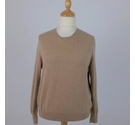 M&S Marks & Spencer Cashmere Jumper Camel Size: 16