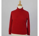 M&S Marks & Spencer Cashmere Jumper Red Size: 16