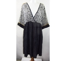 Mamas and Papas BNWT Spotty Maternity Dress Black Size: 16
